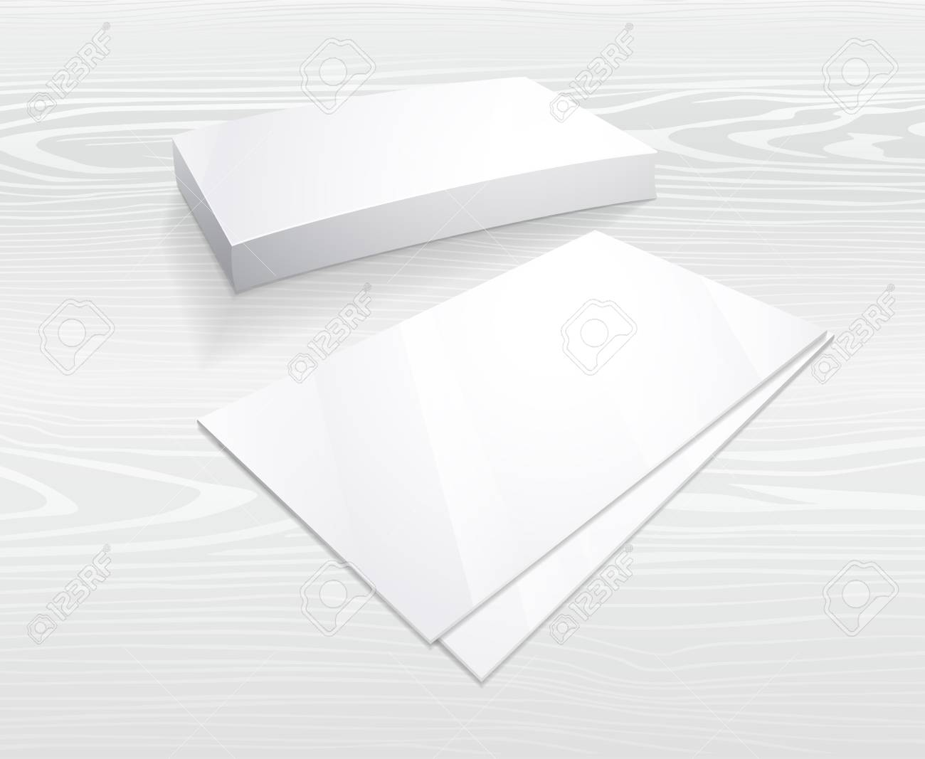 Business Card Blank Template from previews.123rf.com