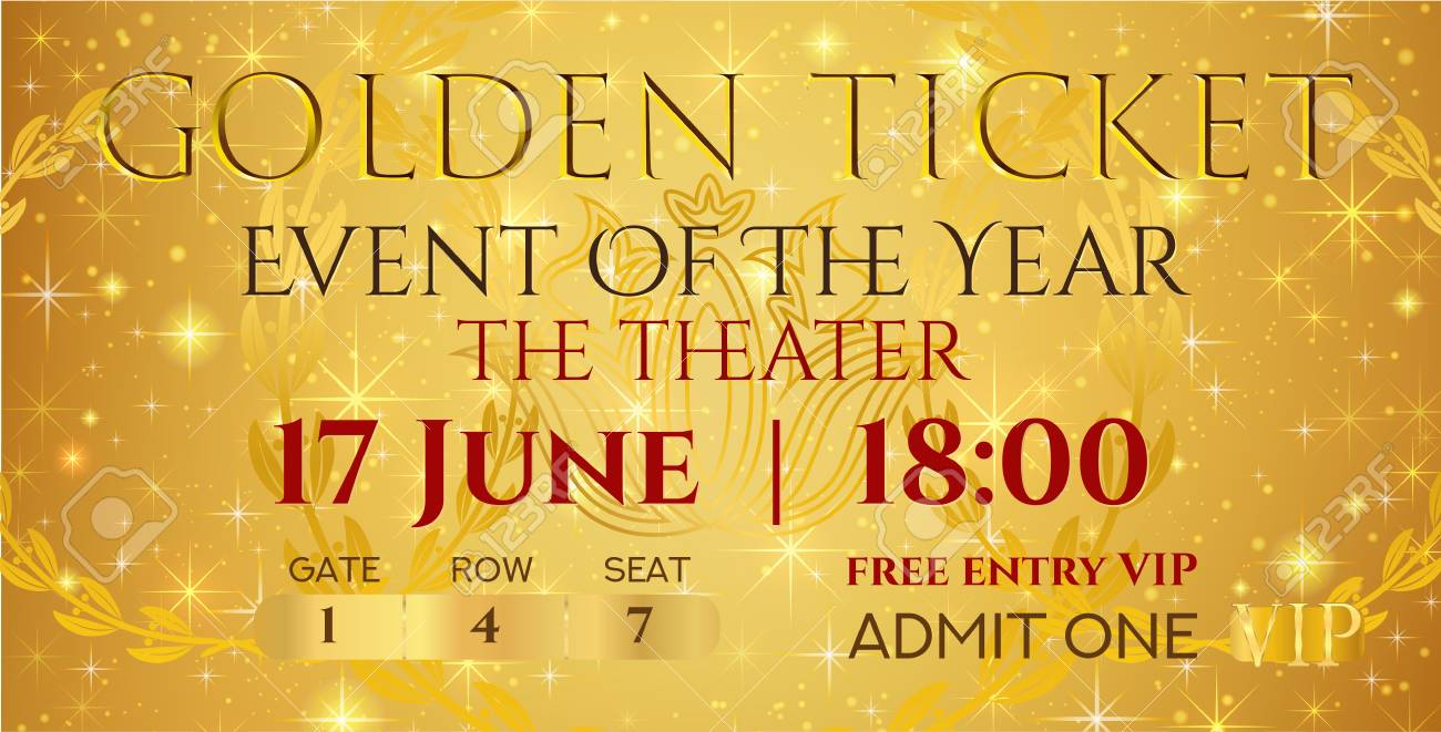 image about Polar Express Golden Ticket Printable titled golden ticket templates -
