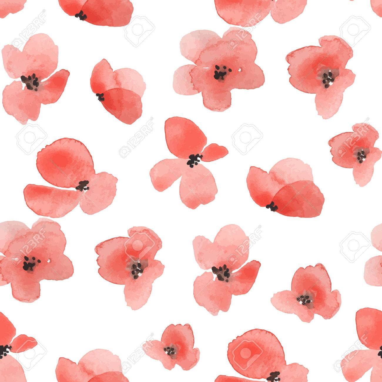 Delicate floral background in vector 1 - 53299895