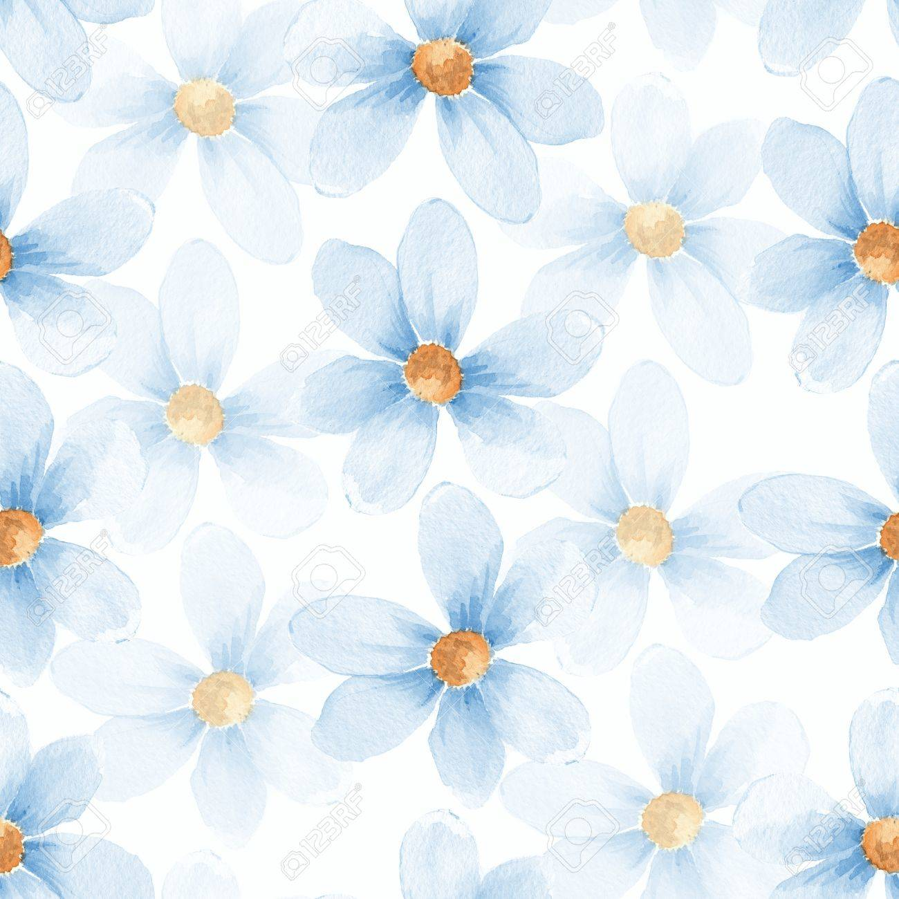 Delicate floral set. Seamless pattern 30 - 53300102
