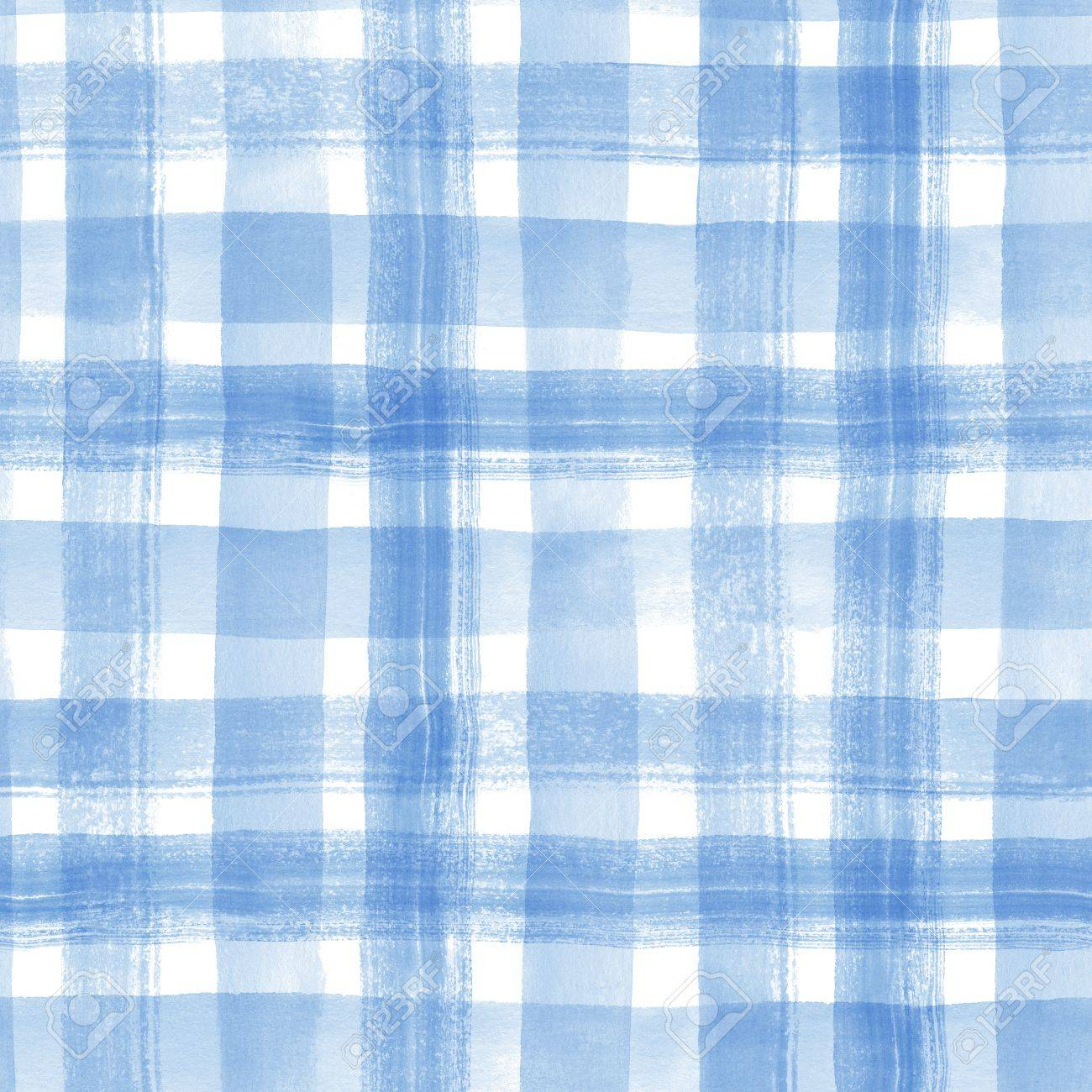 Watercolor stripes. Checkered seamless pattern - 62200144