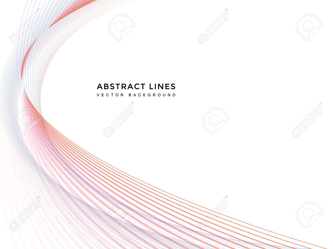 abstract line background - 152141741