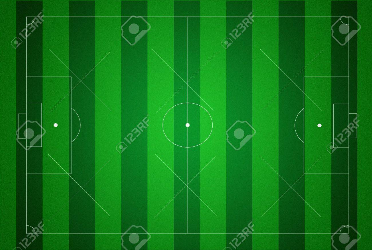 Soccer field texture illustraton. Stock Photo - 9132671
