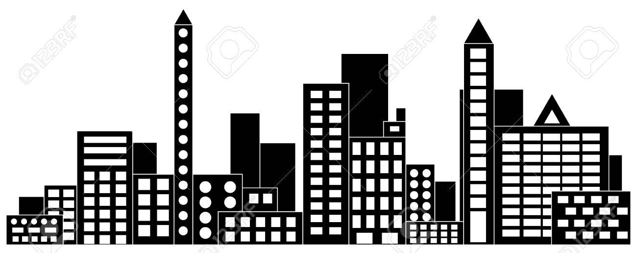 cityscape vector illustration royalty free cliparts vectors and rh 123rf com free vector cityscape free vector cityscape