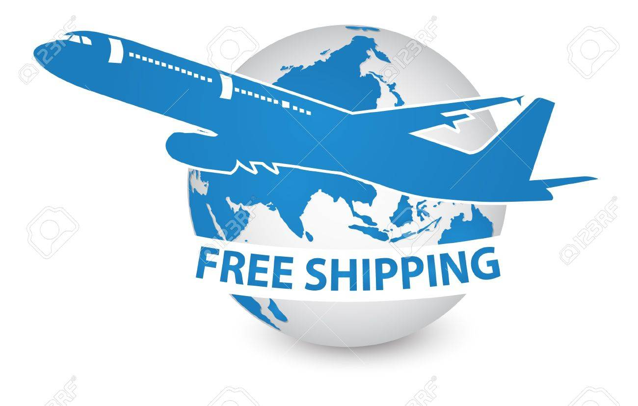 Airplane Air Craft Shipping Around The World For Free Shipping