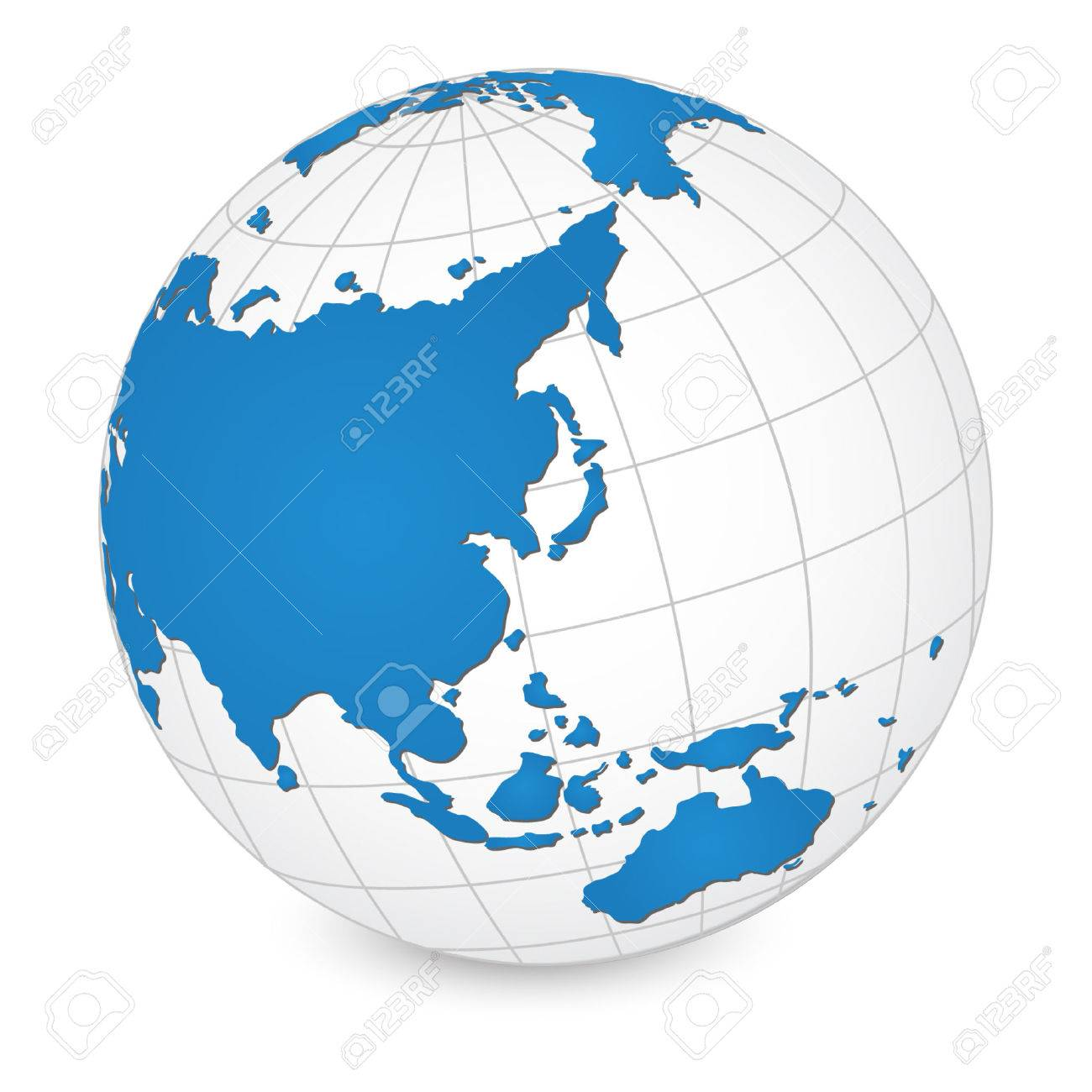 World map and globe detail vector illustration royalty free cliparts vector world map and globe detail vector illustration gumiabroncs Gallery