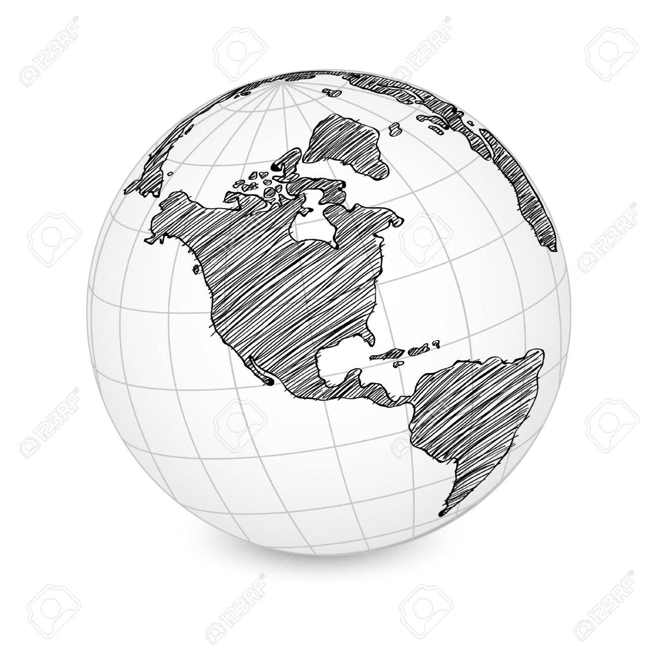 World map earth globe royalty free cliparts vectors and stock vector world map earth globe gumiabroncs Images
