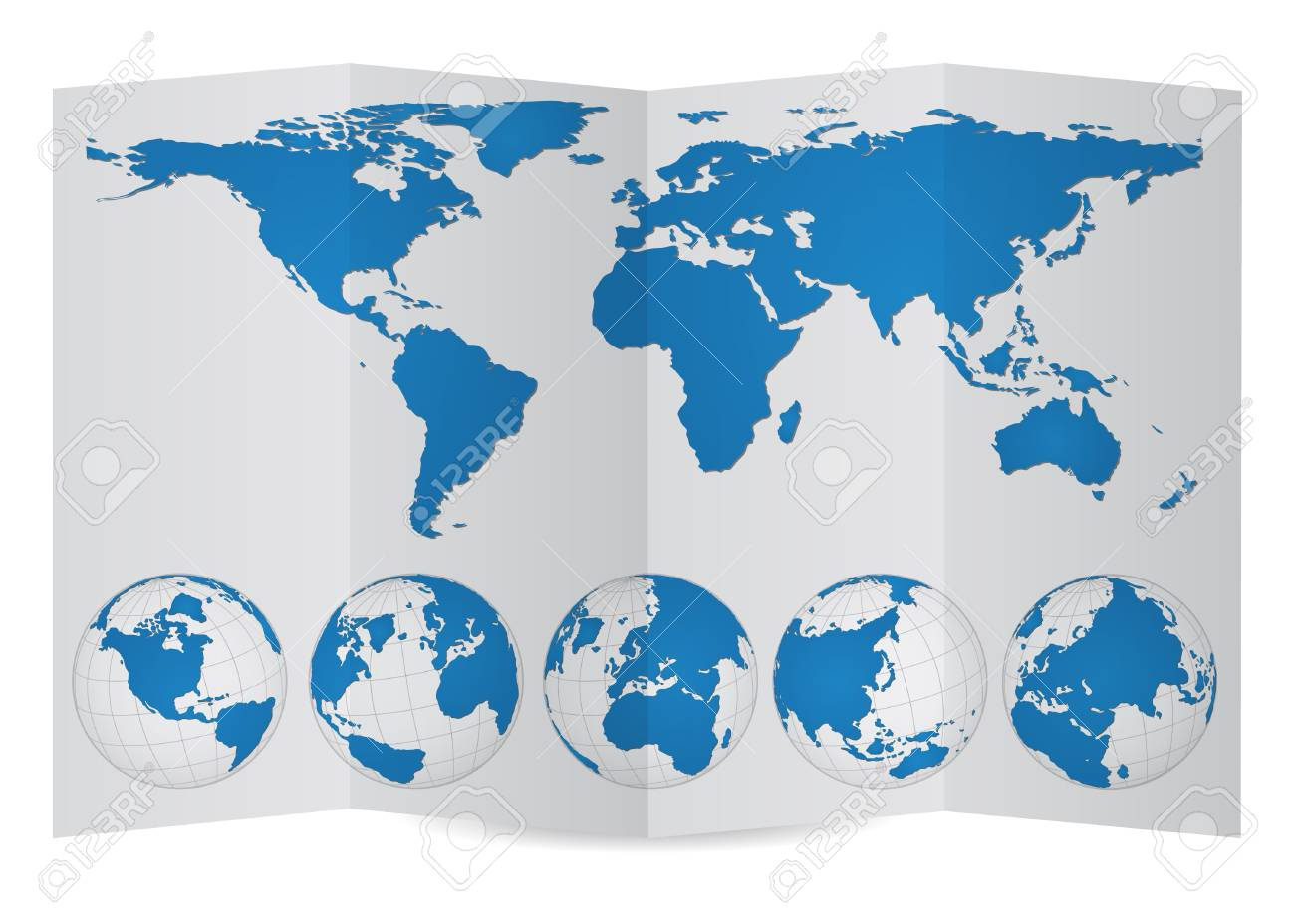 World map globe on paper carpeta ilustracin vectorial eps 10 foto de archivo world map globe on paper carpeta ilustracin vectorial eps 10 gumiabroncs Choice Image