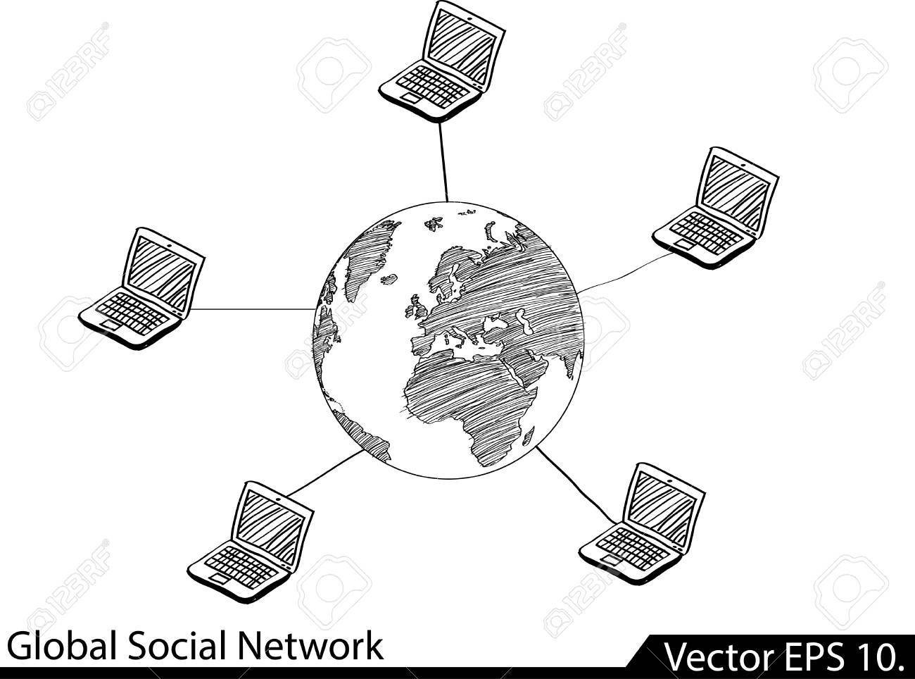 Lan network diagram vector illustrator eps 10 for business lan network diagram vector illustrator eps 10 for business and technology concept stock vector ccuart Image collections