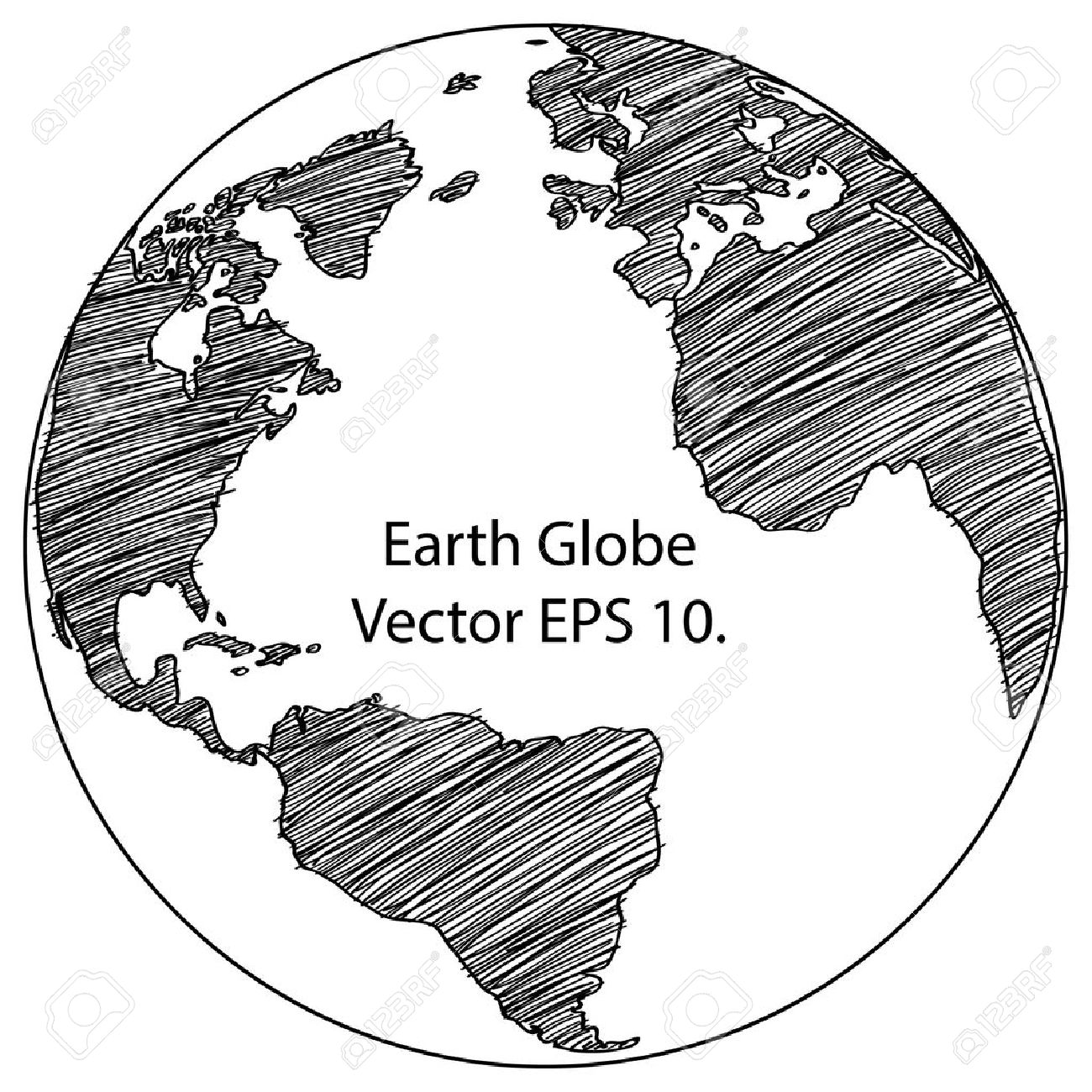 World map tierra lnea globe vector bosquejada arriba illustrator foto de archivo world map tierra lnea globe vector bosquejada arriba illustrator eps 10 gumiabroncs Gallery