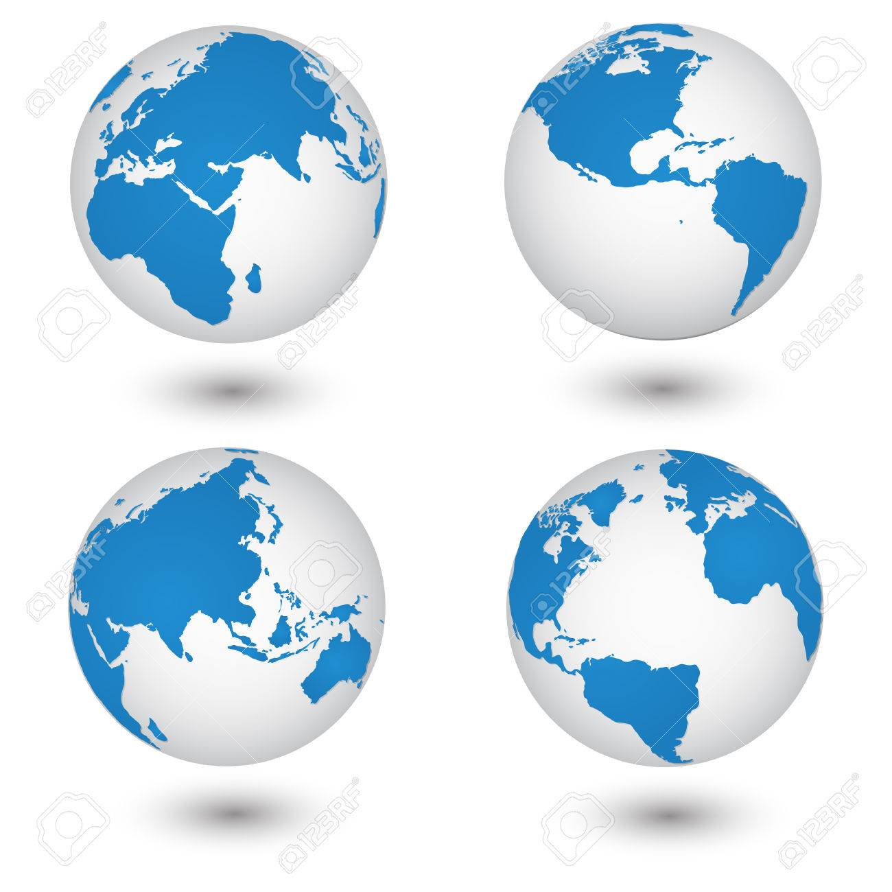World map and globe detail vector illustration eps 10 royalty free vector world map and globe detail vector illustration eps 10 gumiabroncs Gallery