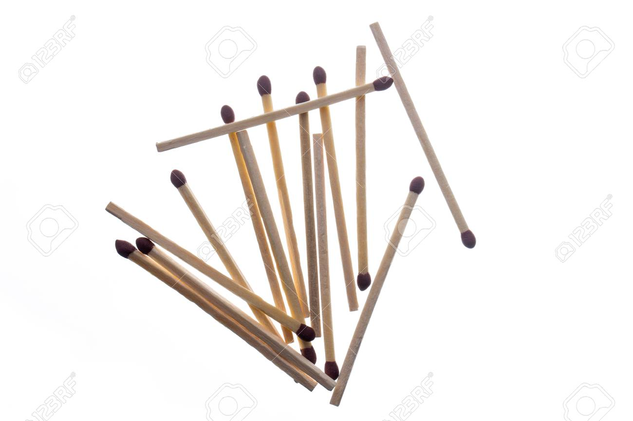 Matches isolated on a white background Stock Photo - 17998640