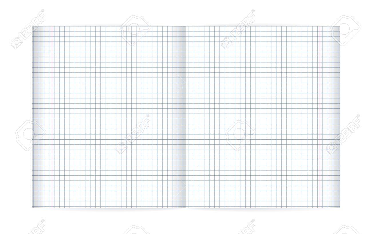 Bungsbuch In Einem Käfig Und Roten Rand. Doppelseiten Blatt Papier ...