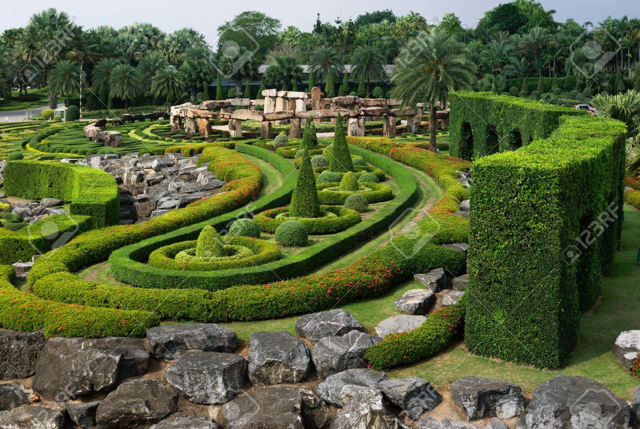 Nong Nooch Tropical Botanical Garden, Thailand Stock Photo - 8806495