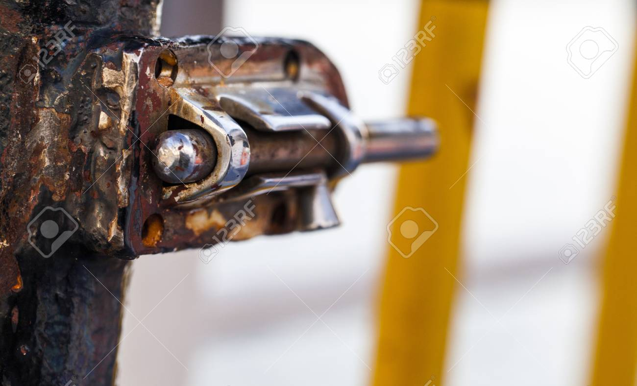 Rusty Lock Stock Photo - 18216510