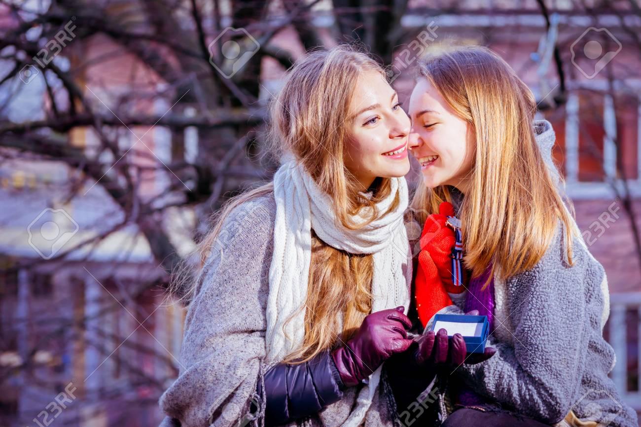 Two girl best friends