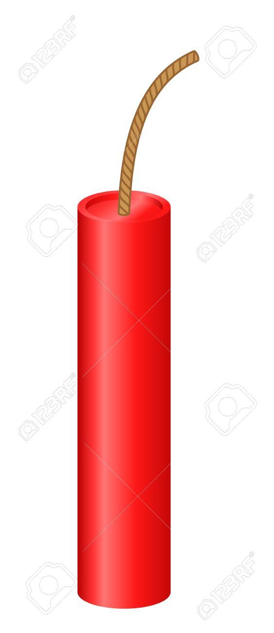 Dynamite stick Stock Vector - 4428916