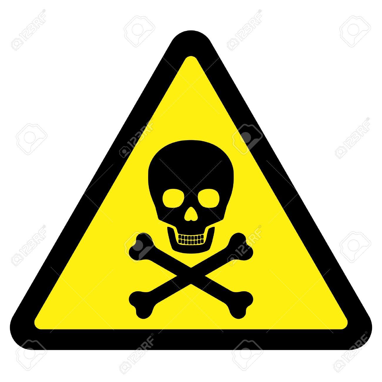 Deadly Danger Sign - 5625294