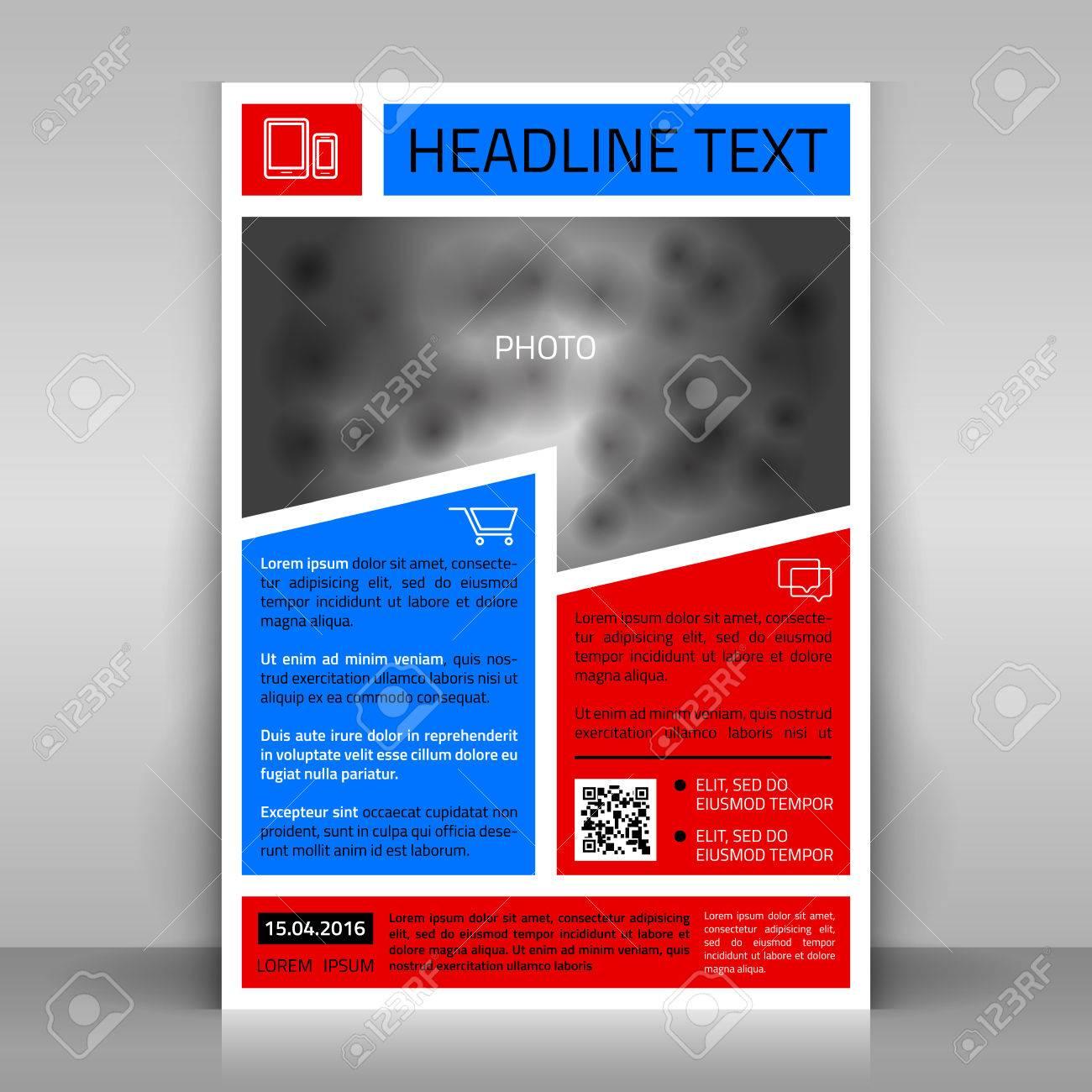 business flyer design broshure cover template vector mock up business flyer design broshure cover template vector mock up stock vector 36870726