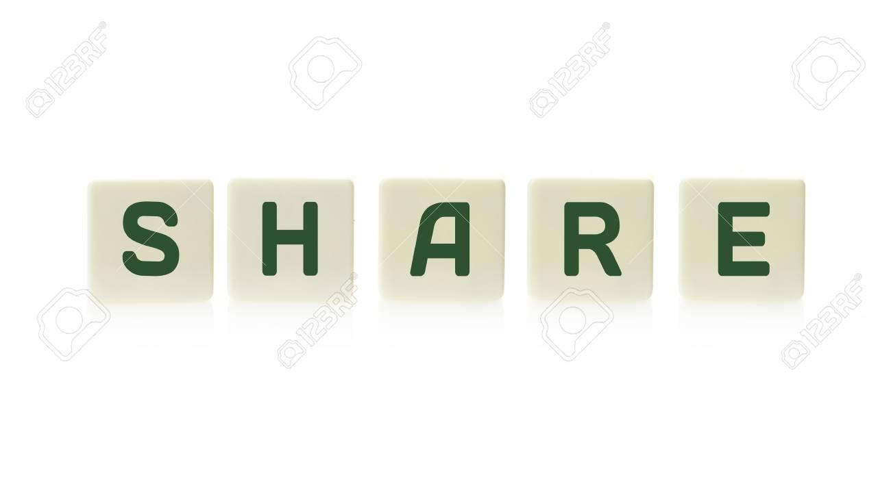 Tavoli Di Plastica Quadrati.Immagini Stock Parola Condividi A Pezzi Di Piastrelle Di