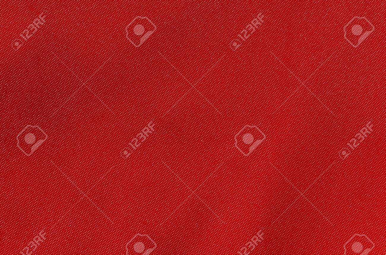 texture of rich red fabric - 122397586
