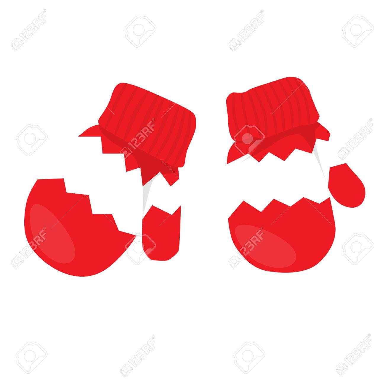 赤いミトンのイラストのペアのイラスト素材ベクタ Image 63816657
