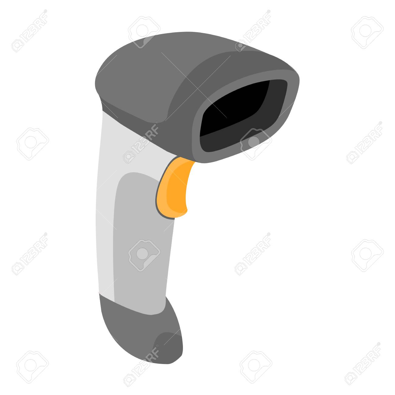 Barcode scanner hand held bar code scanner icon vector barcode scanner hand held bar code scanner icon vector illustration stock vector 79868408 biocorpaavc Images