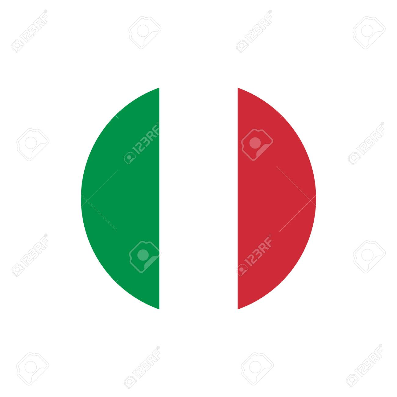 Italy flag, official colors and proportion correctly. National Italian flag. Vector illustration - 89460936
