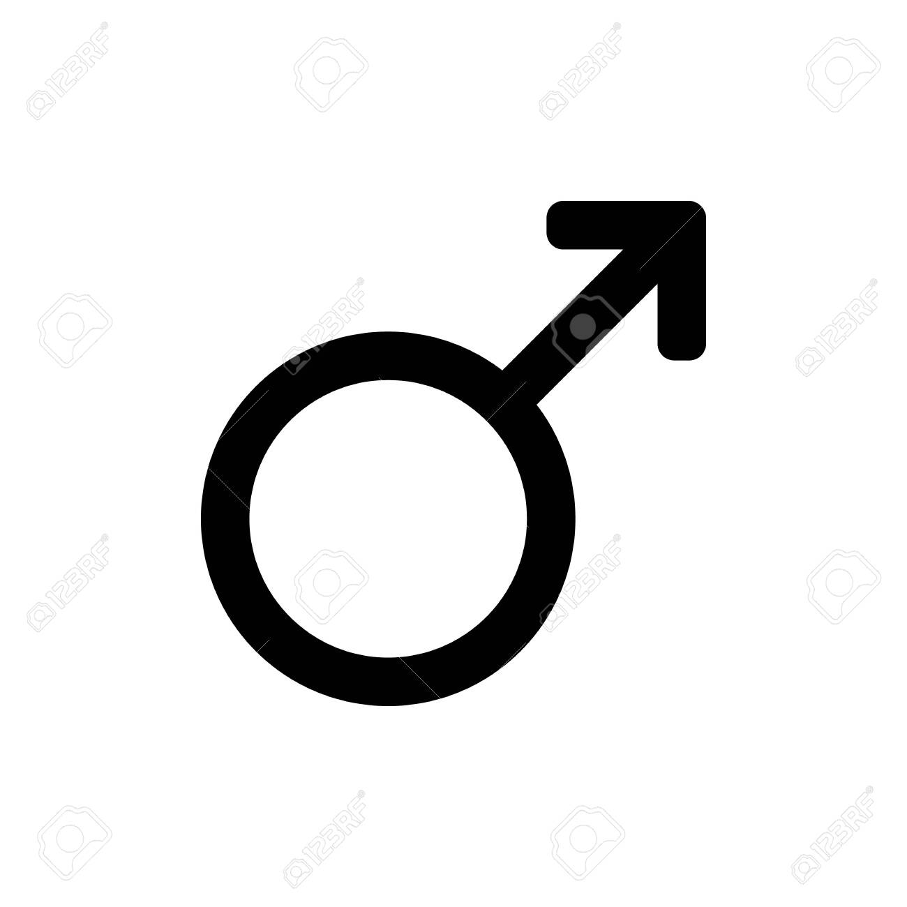 male sex icon gender symbol black mars sign on a white background royalty free cliparts vectors and stock illustration image 129199548 male sex icon gender symbol black mars sign on a white background