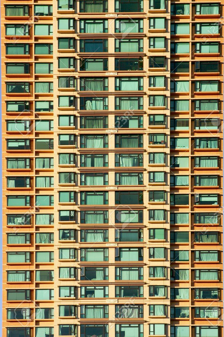 Fancy Apartment Building fancy apartment building in hong kong stock photo, picture and