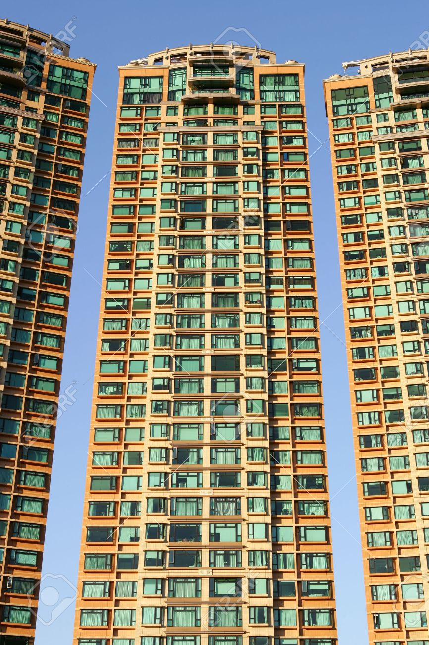 Fancy apartment building in Hong Kong Stock Photo - 3417994