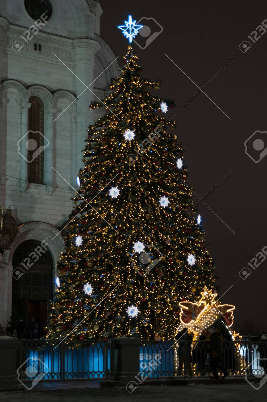 Christmas tree in the Cathedral of Christ the Savior 2019 42