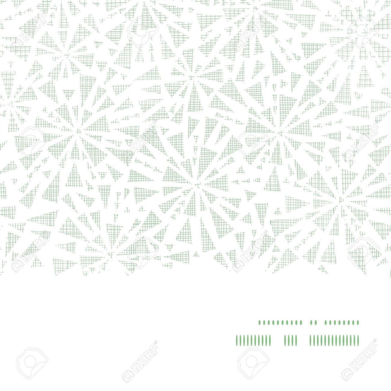 Verde Triángulos Abstracto Textil Textura Sin Fisuras Patrón ...