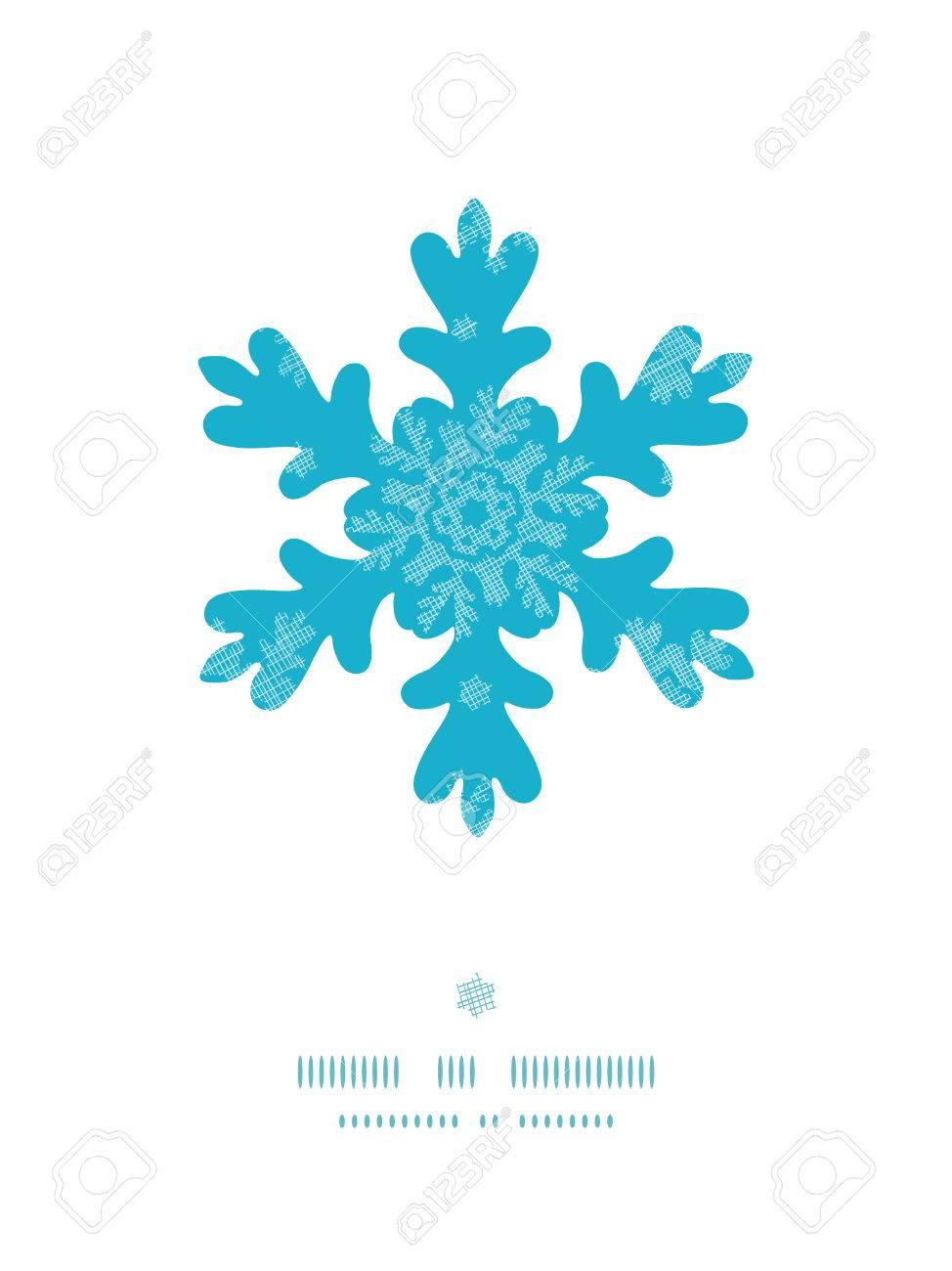 Foto Fiocchi Di Natale.Cornice Di Fiocco Di Neve Di Natale Fiocchi Di Neve Blu Tessile Senza Soluzione Di Continuita Di Fondo Del Modello