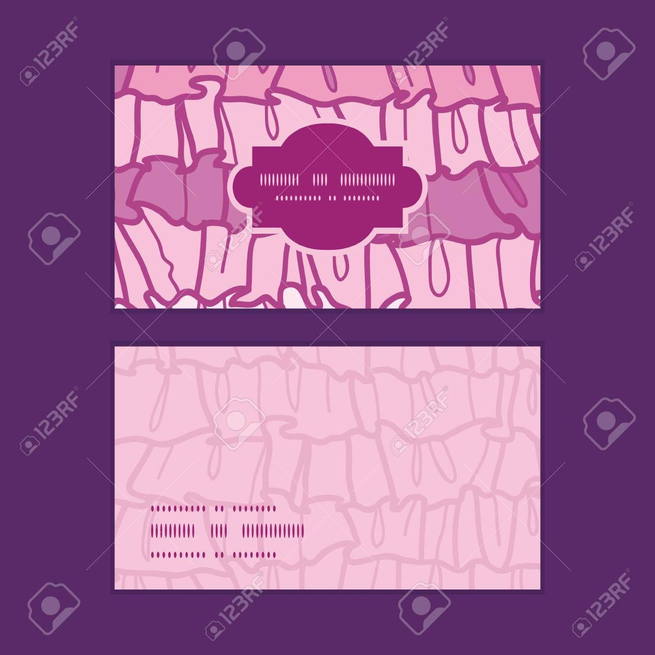 Vecteur Rose Volants Rayures Du Tissu Bti Horizontal Motif Cartes