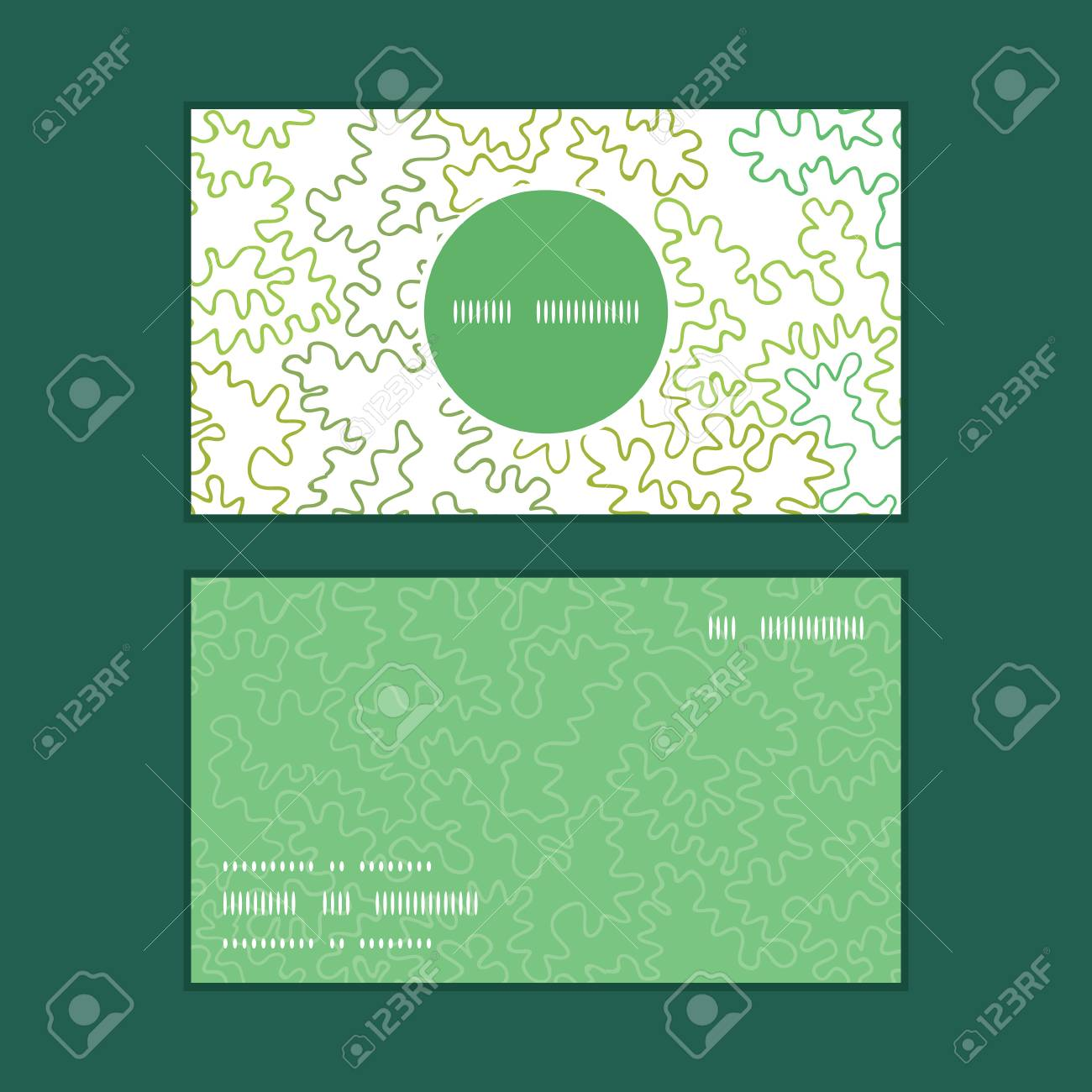 Vector curly doodle shapes vertical round frame pattern business vector vector curly doodle shapes vertical round frame pattern business cards set colourmoves