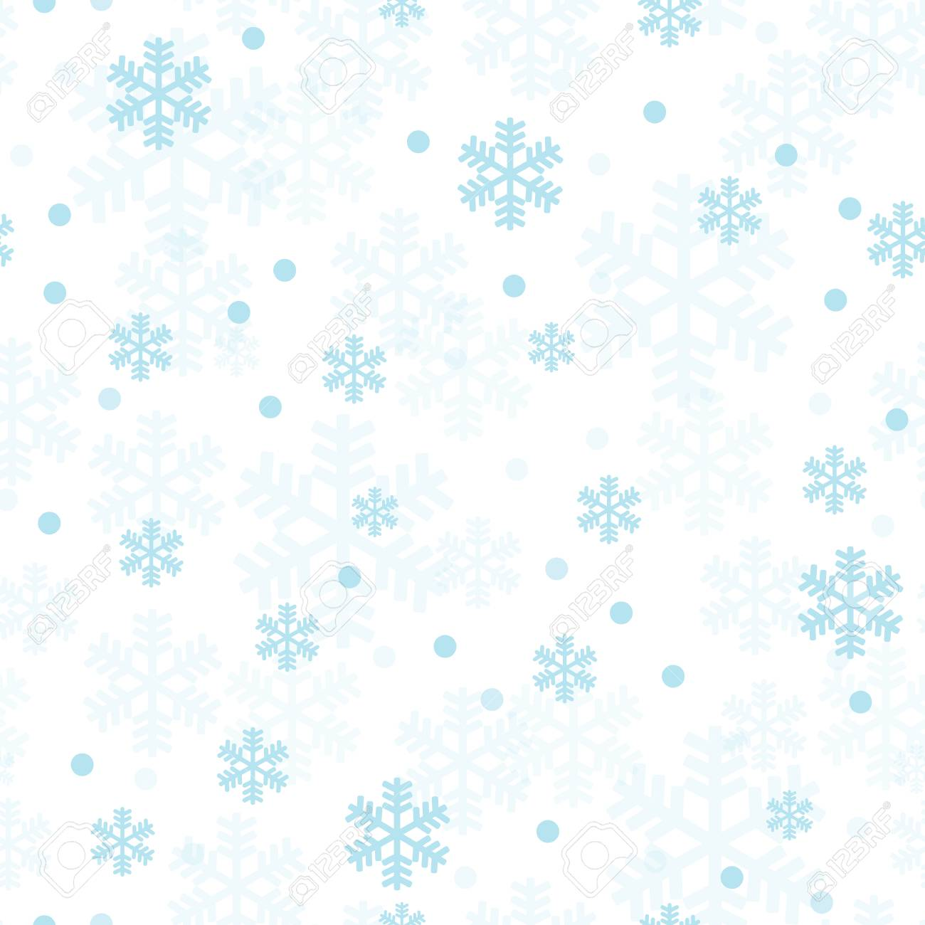 112538004 pastel blue christmas snowflakes seamless pattern great for winter holidays wallpaper backgrounds in