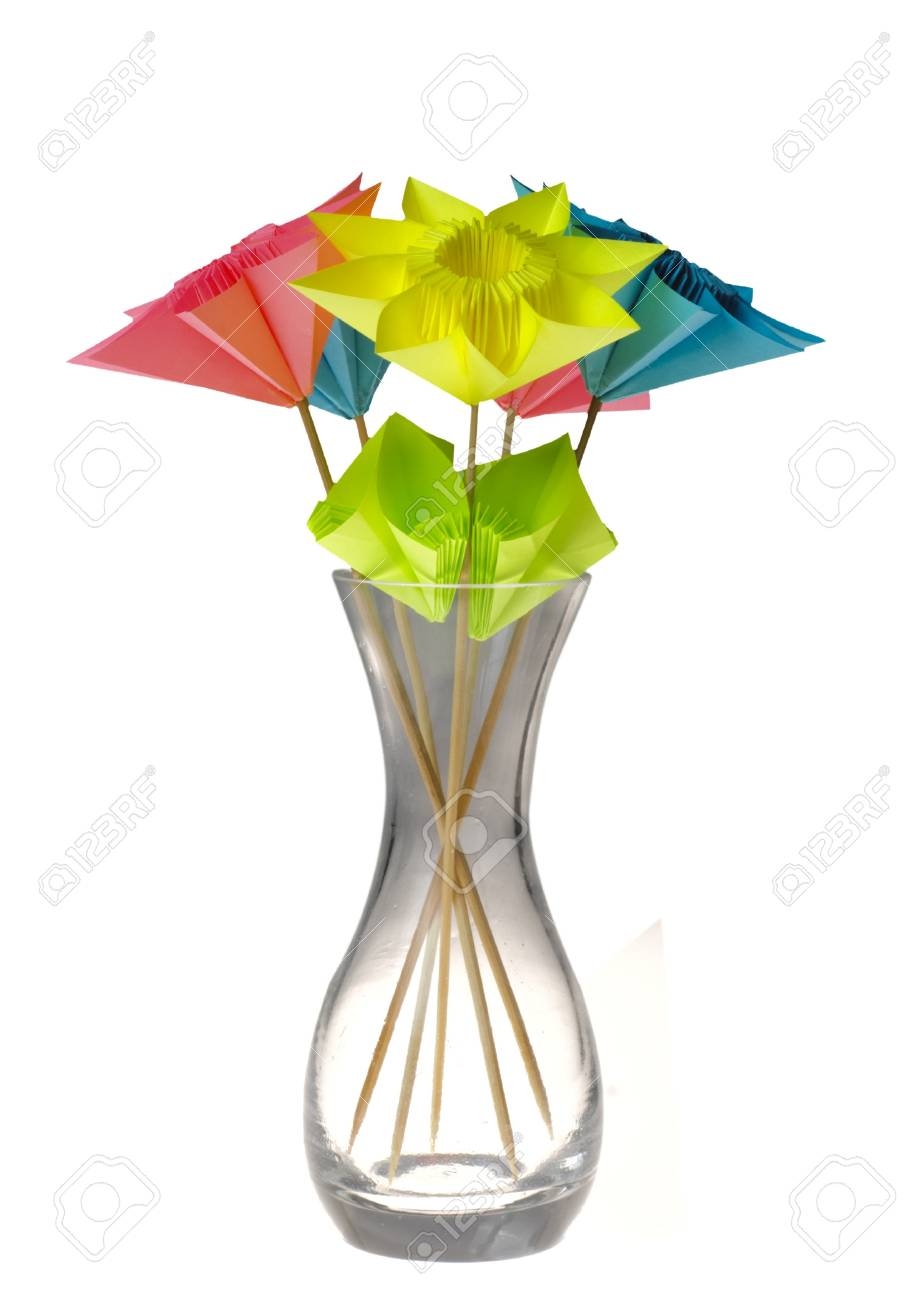 How To Make A Paper Flower Vase - DIY Simple Paper Craft   Flower ...   1300x924