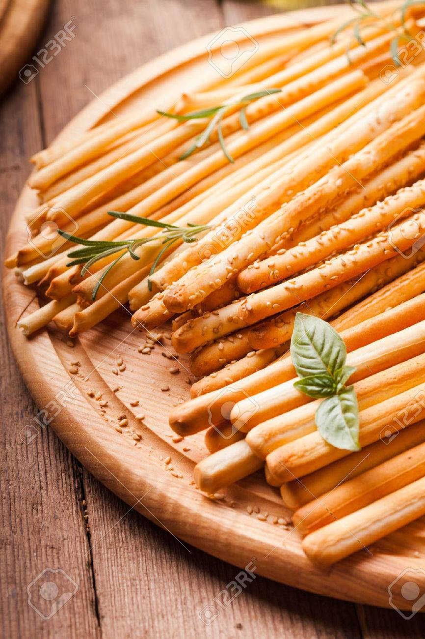 Different Types Of Grissini Tradition Italian Breadsticks Stock Photo Picture And Royalty Free Image Image 30188656