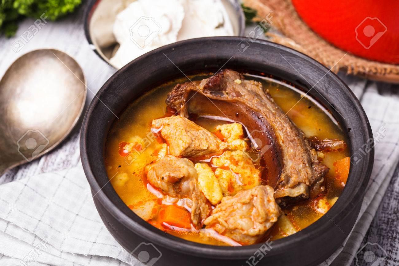 Meat with vegetables in a cauldron. Recipe. Uzbek cuisine 72