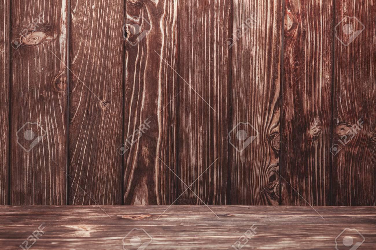 Pareti In Legno Shabby : Vecchio shabby parete di legno naturale e piano per la progettazione