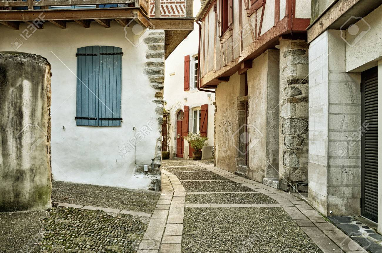 Old Fashioned Houses the old-fashioned houses are in the ancient street of the