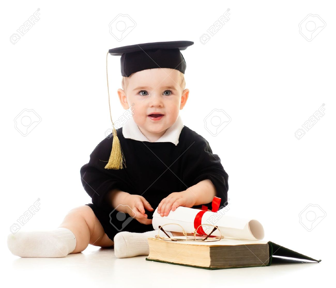 Famous Baby Graduation Cap And Gown Image - Best Evening Gown ...