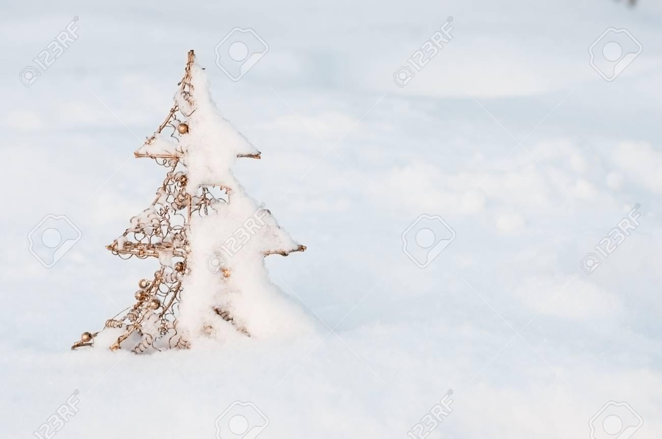 Neujahr Und Weihnachten Hintergrundbild Der Landschaft Mit Platz Für ...