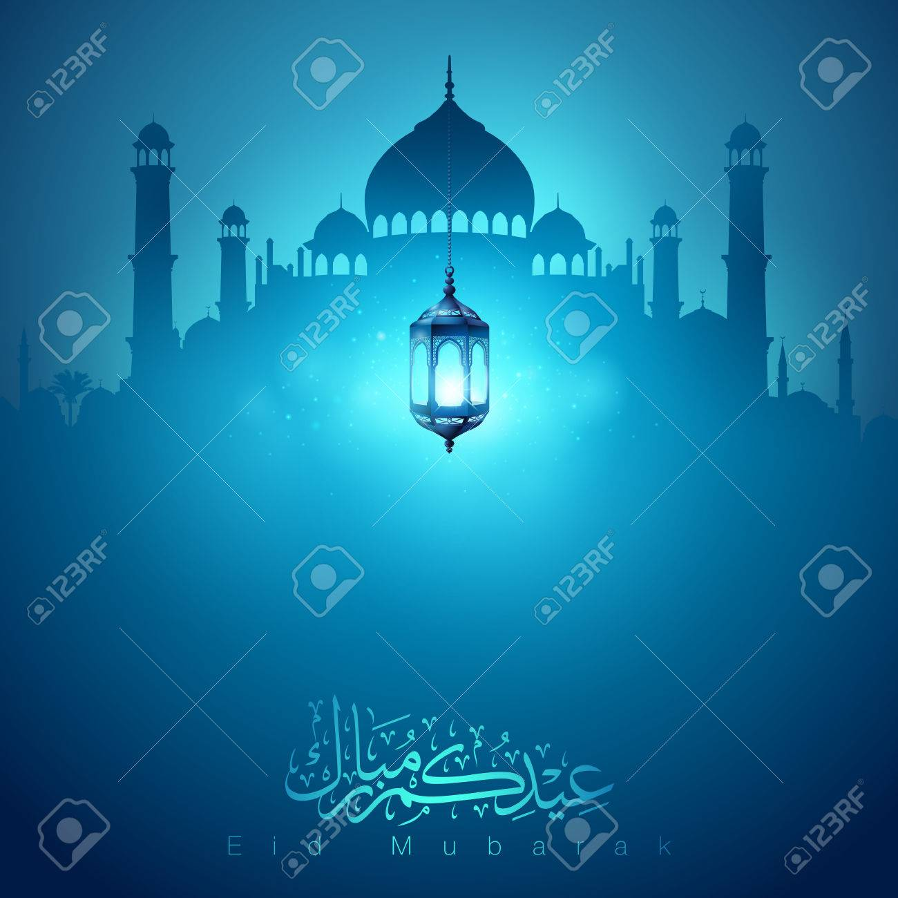 eid mubarak islamic greeting banner design background royalty free cliparts vectors and stock illustration image 62182313 eid mubarak islamic greeting banner design background