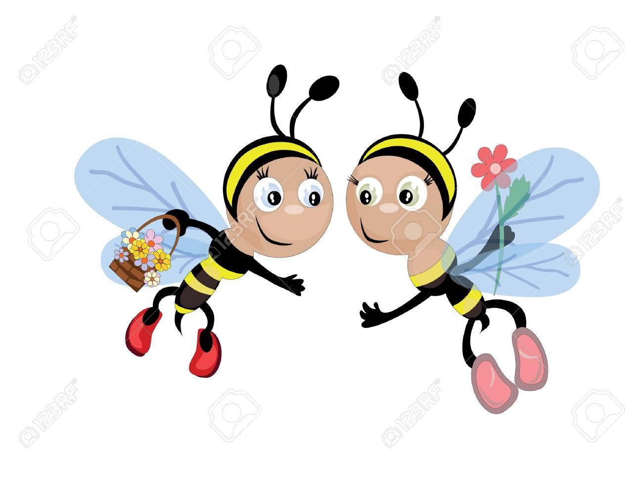 Bees Stock Vector - 8637811