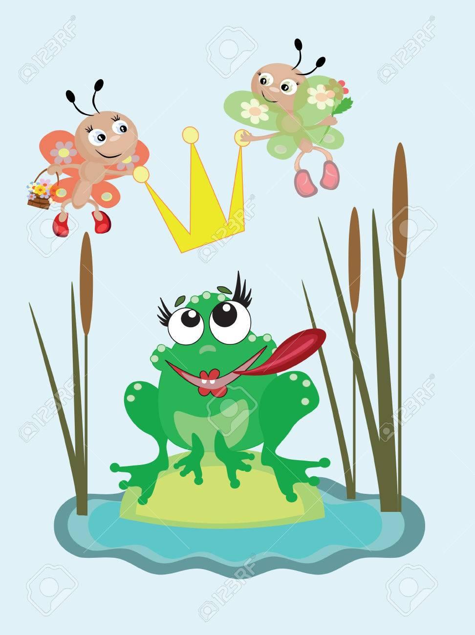 Frog Stock Vector - 8847620