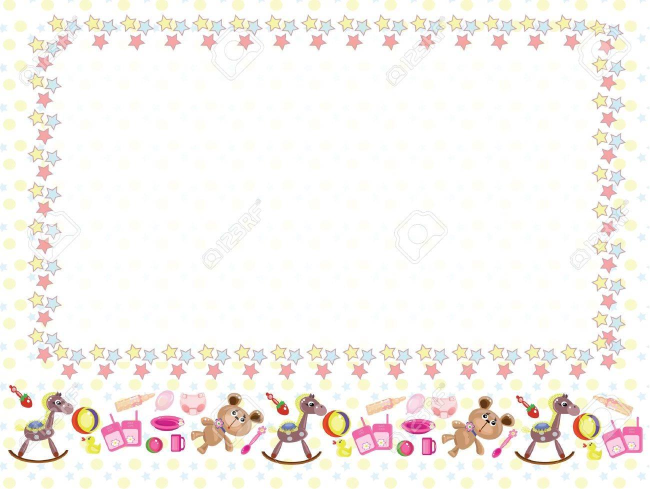 Children frame Stock Vector - 9335379