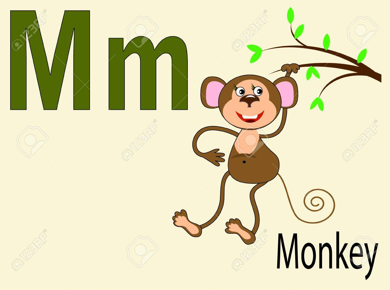 Animal alphabet M Stock Vector - 10265097