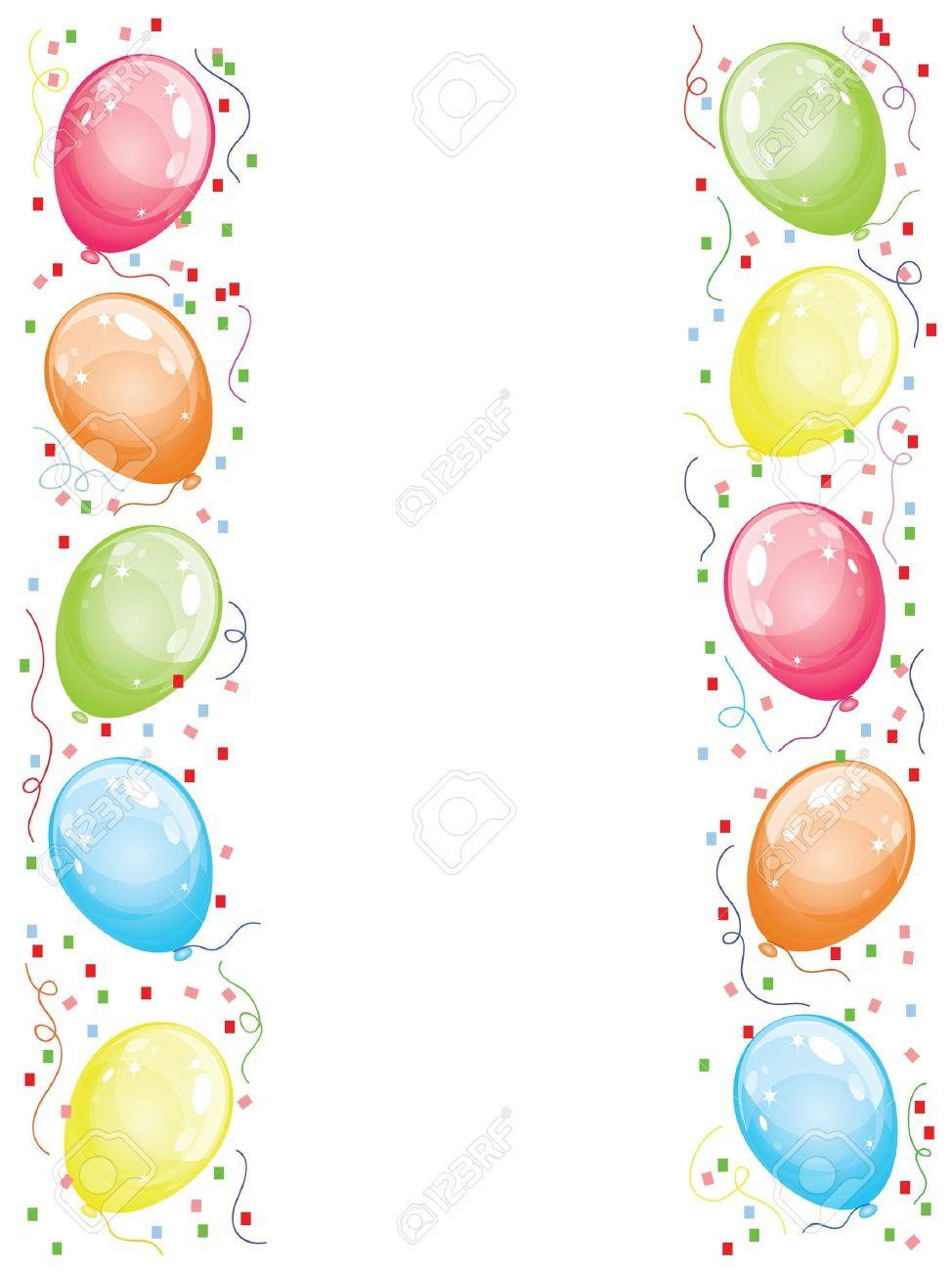 Border with balloons royalty free cliparts vectors and stock border with balloons stock vector 10487880 thecheapjerseys Gallery